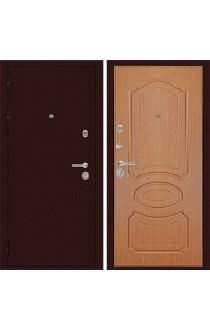 Дверь Дива МД-09 Медь - Дуб светлый