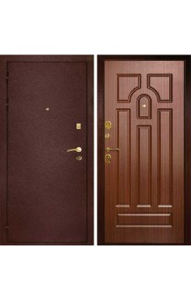 Дверь Дива МД-09 Медь - Орех Тисненый