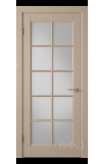 Дверь ВФД Гланта 57ДО04 Эмаль латте