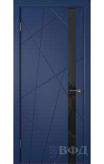 Дверь ВФД Флитта 26ДО09 Синий