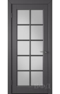 Дверь ВФД Гланта 57ДО06 Эмаль графит