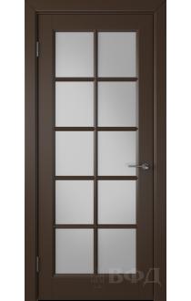 Дверь ВФД Гланта 57ДО05 Эмаль шоколад