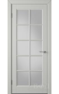 Дверь ВФД Гланта 57ДО02 Эмаль светло-серая