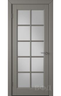 Дверь ВФД Гланта 57ДО03 Эмаль темно-серая