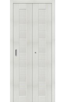 Двери складные Порта-21, Bianco Veralinga
