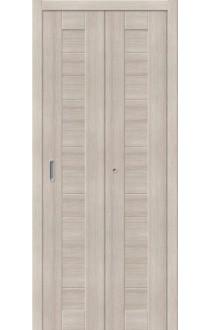 Двери складные Порта-21, Cappuccino Veralinga