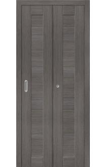 Двери складные Порта-21, Grey Veralinga