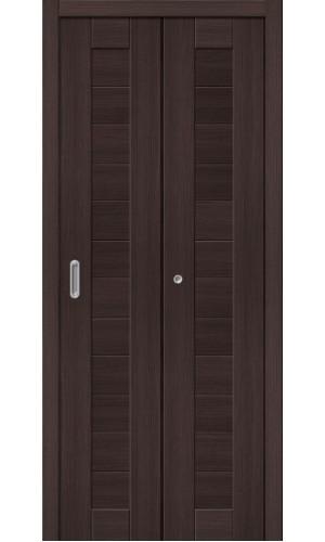 Двери складные Порта-21, Wenge Veralinga