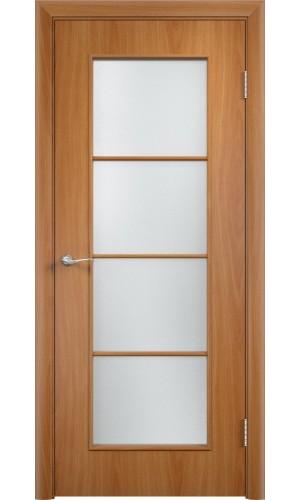 Двери Верда С-08 Миланский орех Стекло Сатинато