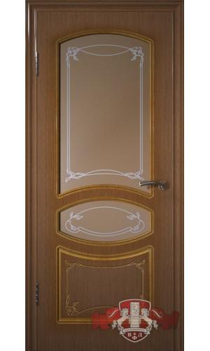 Версаль 13ДР3 Орех со стеклом