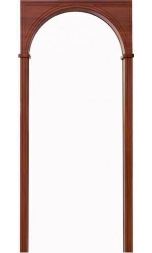 Арка Универсал итальянский орех (толщина стены до 20см)