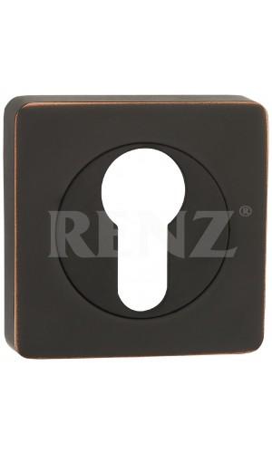 Накладка Renz ET 02 Черная бронза с патиной