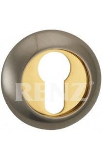 Накладка Renz ET (N) 08 Никель матовый латунь блестящая