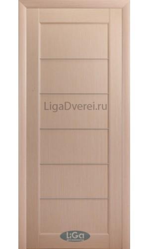 Дверь Лига Модерн 3 Беленый дуб ДГ