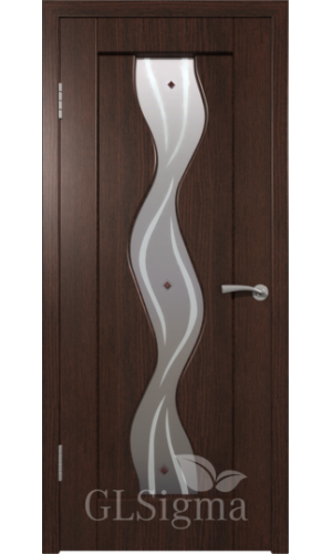 Двери ВФД Сигма 42 Венге ДО