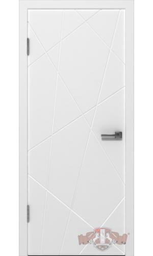 Двери ВФД Авангард П3 26ДГ0 Белая эмаль