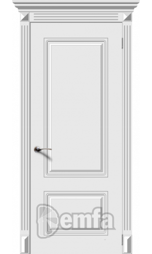 Дверь Дэмфа Ноктюрн Белый ДГ