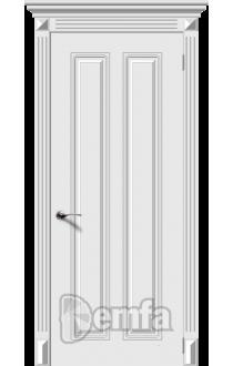 Дверь Дэмфа Ретро 2 Белый ДГ