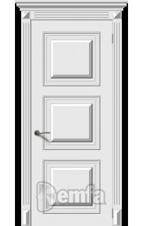 Дверь Дэмфа Багет 1 Белый ДГ