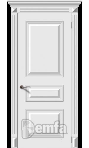 Дверь Дэмфа Багет 3М Белый ДГ