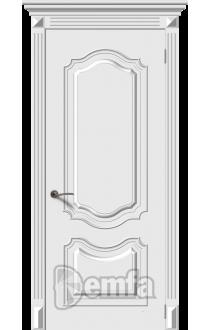 Дверь Дэмфа Багет 4 Белый ДГ