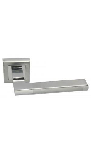Ручка дверная Adden Bau Quadro Piana Q307 SATIN Хром