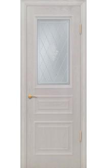 Бостон Б Дуб белый стекло матовое