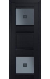 6U Черный матовый Стекло Узор графит 2
