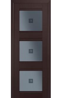 4U Темно-коричневый Стекло Узор графит 2