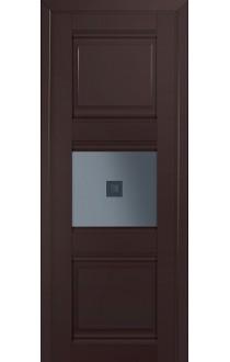 5U Темно-коричневый Стекло Узор графит 2