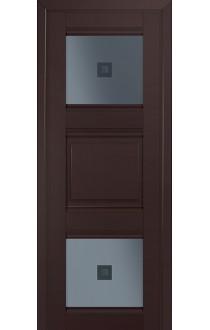 6U Темно-коричневый Стекло Узор графит 2