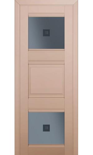 Двери Профиль Дорс 6U Капучино Сатинат Стекло Узор графит 2