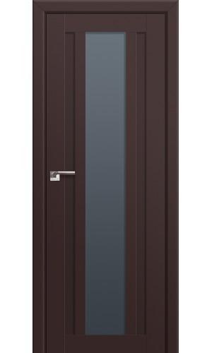 16U Темно-коричневый Стекло Графит