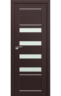 Двери Профиль Дорс 32U Темно-коричневый Стекло Мателюкс