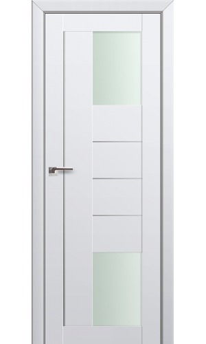 Двери Профиль Дорс 43U Аляска Стекло Мателюкс
