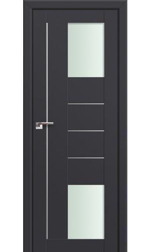 Двери Профиль Дорс 43U Антрацит Стекло Мателюкс