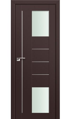 43U Темно-коричневый Стекло Мателюкс