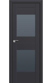 Двери Профиль Дорс 61U Антрацит Стекло Графит