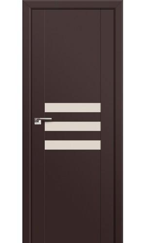 74U Темно-коричневый Стекло Перламутровый лак