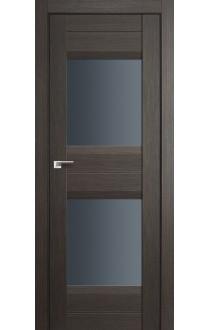 Дверь Профиль Дорс 61X Грей Мелинга Стекло Графит