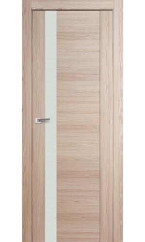 Дверь Профиль Дорс 62X Капучино Мелинга Стекло Белый Лак