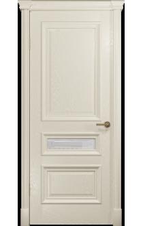 Двери Арт Деко Аттика 2-3 Аква Стекло Гравировка